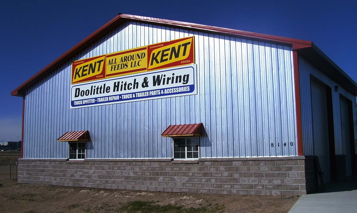 Call Wyomings Post Frame Construction Specialist Wiring A Metal Building Project 60150a